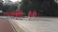 文清实验学校小学部女子国旗班出旗