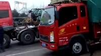 卡车司机这样的装货技术确实很厉害