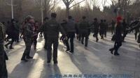 201712月9北京陶然亭公园北门晨练第二套水兵舞