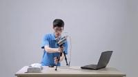 EinScan-Pro手持式3D扫描仪丨操作视频丨自由扫描模式