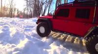 RC遥控吉普车雪地越野
