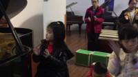 欢乐的牧童 一年级小朋友(学琴一年半)谷祥慧 音缘教学视频 课堂花絮