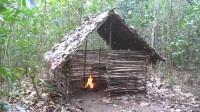 「原始技术」澳洲小哥真人版我的世界Minecraft - 篱笆泥墙小屋