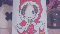 【卉子】圣诞特辑# (超稀)偶像活动自制食玩  Q版貂蝉