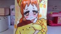 【西瓜】偶像活动自制食玩 乙女封面 画的丑勿喷