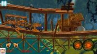 《疯狂卡车之旅第4期 运输沼泽恐龙》儿童游戏 糯米解说