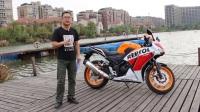 骑士网15年第7集:本田CBR300R摩托车初体验之简单介绍 呆子测评
