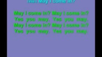 100-03 May I come in song+primary english song