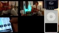 BLUE:Mikey/米奇麦克风与iPhone功放在 Fourtrack创建歌曲