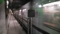 上海地铁11号线1152号车江苏路站下行出站(嘉定北站方向)