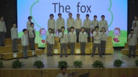 青岛为明学校小学部英语节之英语歌曲班级比赛活动(哈佛四年级1班)