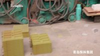 射芯机工作视频-青岛恒林集团