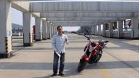 骑士网15年第9集:少有人知道的好车隆鑫LX650无极摩托车 呆子测评