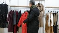 兵哥聊服饰-爱无季18年春夏青花连衣裙外套风衣走份展示