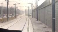 北京有轨电车西郊线 香山至植物园车头视角