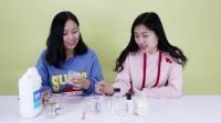 草莓酱珍珠史莱姆 水晶泥DIY