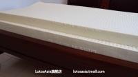 越南LIENA莲亚乳胶床垫,细节辨真知