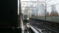 上海地铁3号线黑包公 中潭路进站