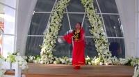 哈尔滨冰雪广场舞【花儿为什么这样红】