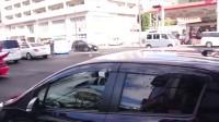 日本成人仪式的暴走族开车 VS 日本警察