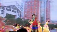 歌舞【幸福花儿朵朵开】云南民族大学 2018元旦篝火晚会