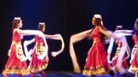 藏族舞蹈【金色弦子】云南民族大学 少数民族舞蹈大赛
