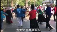 王振麦西来甫三亚教学男女对跳