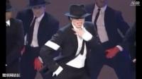 倒放迈克尔杰克逊舞蹈