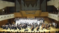 我的祖国——经典名曲新年交响音乐会   北京音乐厅    交响合唱-《乘胜进军》 指挥:赵健  伴奏乐团:北京八一室内乐团