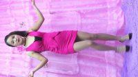 玉玲珑广场舞--【跟着感觉走】-编舞叶梦-竖屏