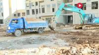 攻城兵机械:挖机卡车过家家