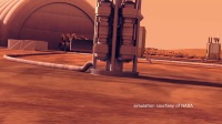 Powering a Habitat on Mars with Kilopower