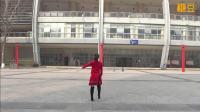 重庆叶子广场舞 潇洒走一回 背面
