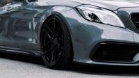 奔驰AMG CLS改装亮黑轮毂 肆意驰骋