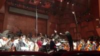 彭家鹏录制唱片刘长远第二古筝协奏曲《重游琴台》。古筝:高雁