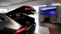 2018款奥迪A7实拍打开LED流水灯和掀背式尾门瞬间惊艳