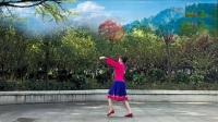 林州芳心广场舞《一路花香》原创含背面教学
