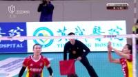 2017-2018中国女排超级联赛第十九轮(八强赛)辽宁vs上海比赛录像
