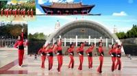 原创跳跳乐第十四套快乐舞步健身操全国异地粉丝队合屏第二节《自由运动》