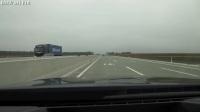 国外宝马M5 F10时速300公里每小时