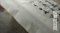孔凡勇草书书法教学系列视频之162舒亶词菩萨蛮【画船】