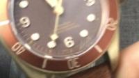 评测V2版本复古帝陀舵青铜花 启承碧湾古铜腕表