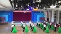 中标舞金球国际联欢会八里庄队员表演