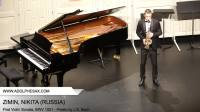 J. S. Bach: Violin Sonatas and Partitas BWV 1001 - Presto, arr. Alto Sax