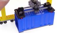 [积木砖家]乐高lego Work In Progress_STS Container Gantry Crane update Jan. 21, 2018