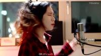 【欧美流行】侧颜女神J.Fla We Don't Talk Anymore - J.Fla(原名Kim Jeong Hwa) 英文翻唱 中英歌词字幕_高清