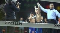 WBO国际拳王争霸赛 向静降重108磅击败对手获洲际头衔