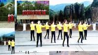 原创邵东跳跳乐第十四套快乐舞步健身操全国异地粉丝大合屏第三节《跳跃运动》