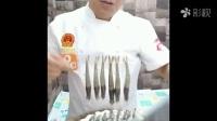 一秒挑出虾线的方法  每次在餐厅吃虾发现都未去虾线,难下咽。其实去虾线很简单的,美味要讲卫生才美。