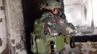 菲律宾政府军马尼拉反恐战地实拍,场面堪比好莱坞大片